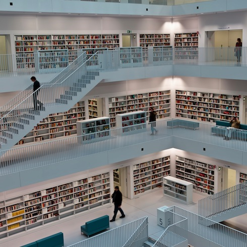 Library in Stuttgard