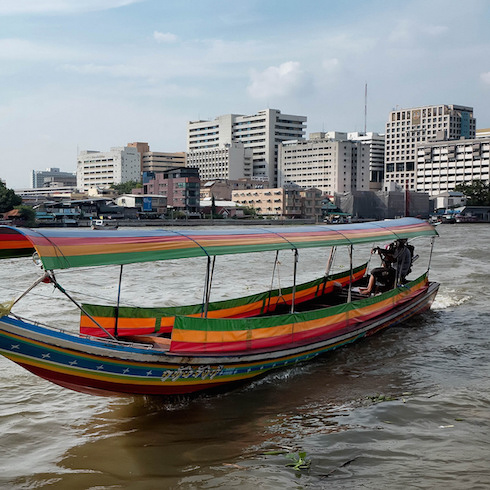 Thailand - longtailboat