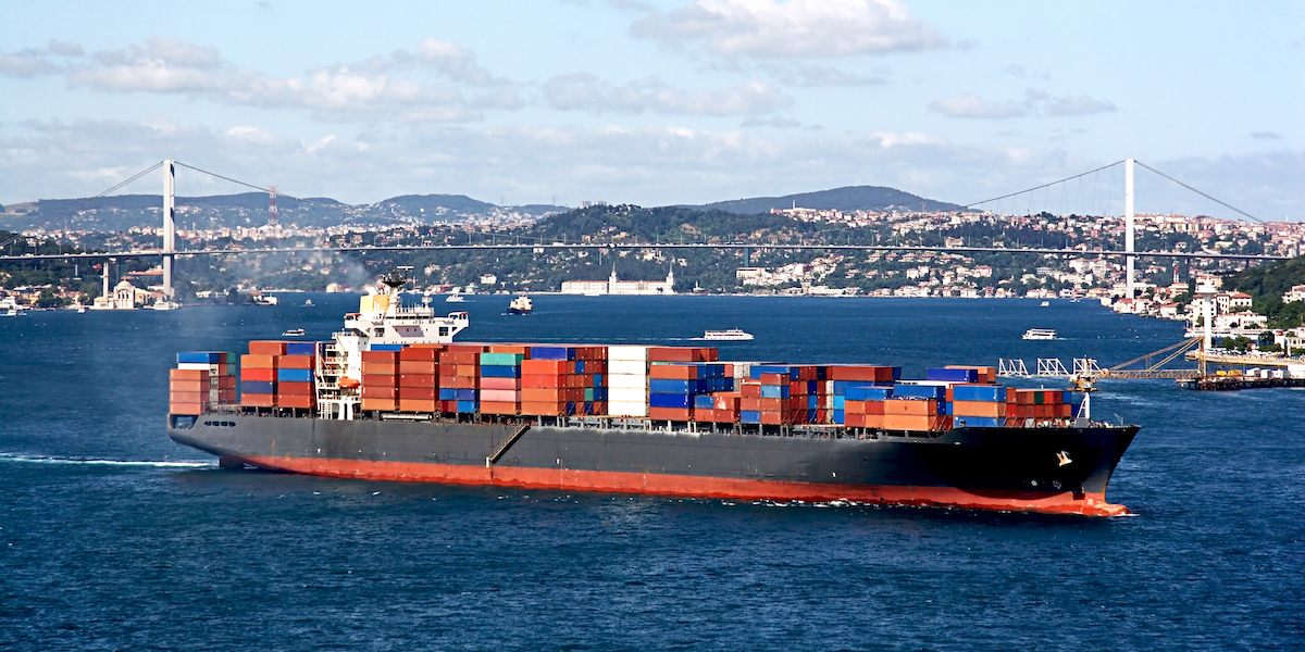 Container ship Istanbul